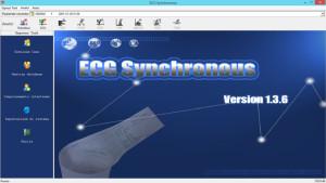 nuovo software per ecg 90A versione 1.3.6