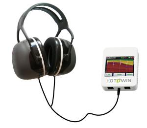 audiometro portatile usb compatibile con OSX e windows Otowin