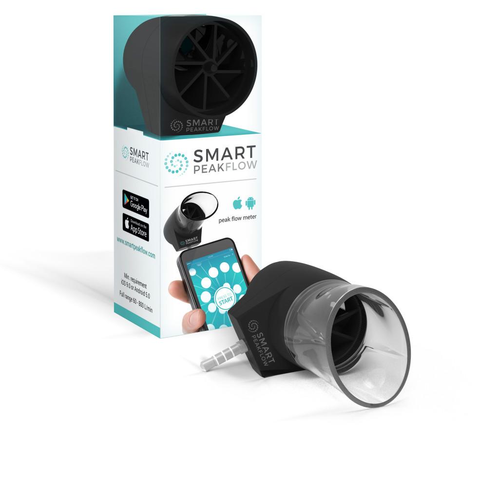 MISURATORE DI PICCO DI FLUSSO DIGITALE PER SMARTPHONE ANDROID E APPLE SMART PEAKFLOW