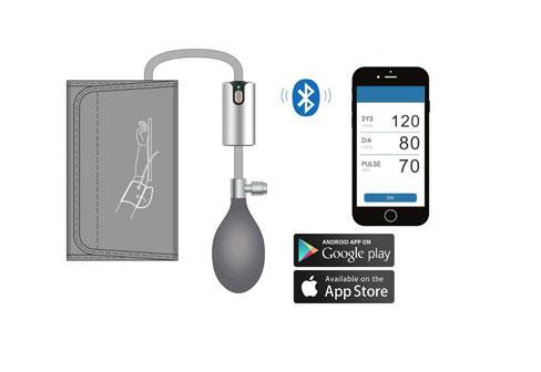 Air BP misuratore della pressione per smartphone